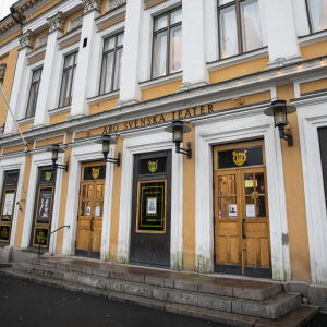 Åbo Svenska Teaterin pääovet
