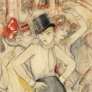 Jeanne Mammen, Sie repräsentiert (Hon representerar), ca 1928
