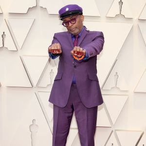 Spike Lee på Oscarsgalan 2019.