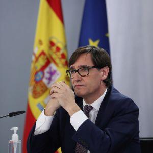 Spaniens hälsovårdsminister Salvador Illa