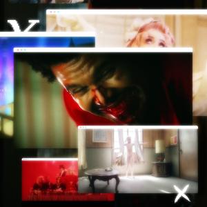 Still-kuvia musiikkivideoista, kuten Ibe - e-girl, Lil Nas X - Montero (Call Me By Your Name), Ellinoora - Meille käy hyvin, The Weeknd - Blinding Lights ja Erika Vikman - Syntisten pöytä