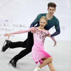 Isdansparet Juulia Turkkila och Matthias Versluis på isen