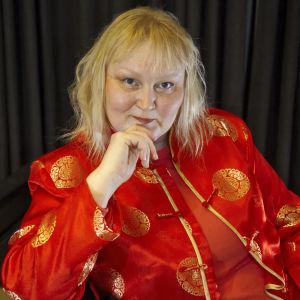 Runoilija Merja Virolainen