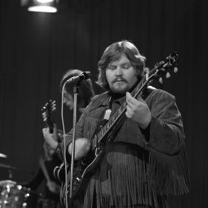 Jussi Raittinen soittaa 1971.