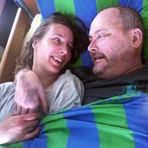 Magdalena och Peter Snickars.