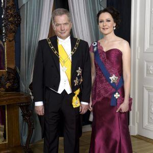 Sauli Niinistö och Jenni Haukio.