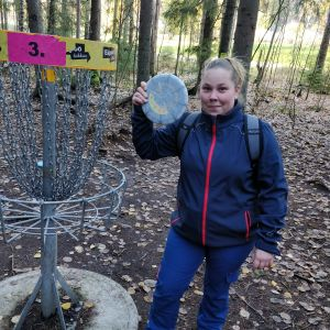 Johanna Österman, Hole-In-One Espoossa, 66 metriä
