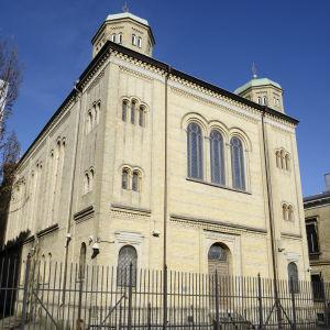 Synagogan i Göteborg den 14 mars 2013