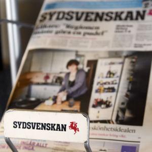 Sydsvenskans logo.