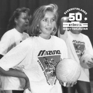 Catarina Svenlin fotograferad år 1993.