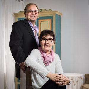 Piia Sumupuu Jussi Kinnunen vierekkäin