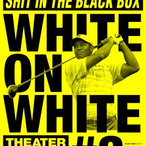 Iggy Malmborg och Johannes Schmit i White on White 3 - A Non-Controversal Shit In The Black Box