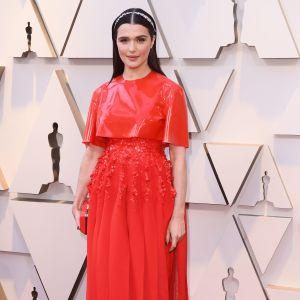 Rachel Weiz på Oscarsgalan 2019.