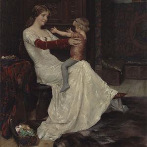 Målning av Albert Edelfelt