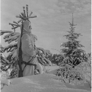 Sotilas kemijärvellä 11.2.1940