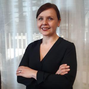 Foto på specialforskare Annamari Lundqvist på THL