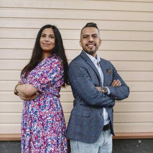 Sara Al Husaini ja Ahmed Mesaedy.