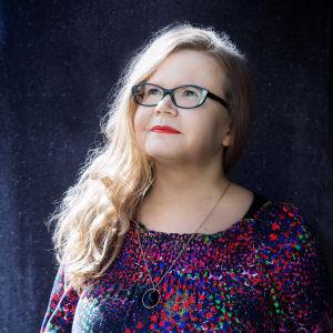 Författaren och journalisten Malin Slotte.