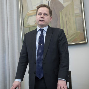 Centerns riksdagsledamot Markus Lohi fotograferad i Helsingfors den 17 januari 2019.