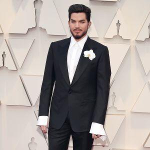 Adam Lambert under Oscarsgalan 2019.