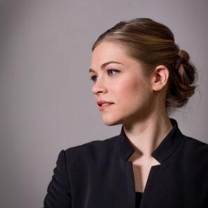 Akademiska sångföreningens dirigent Elisa Huovinen