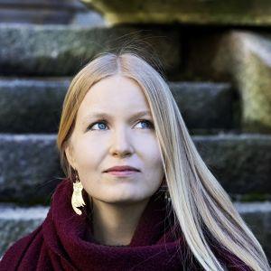 Bilderboksförfattaren Nadja Andersson.