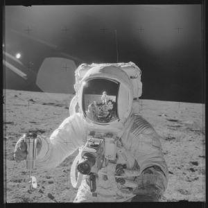 Alan Bean på månen.