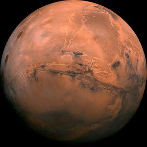 Planeten Mars.