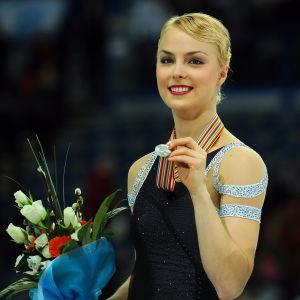 Kiira Korpi tog silver i EM i Sheffield 2012