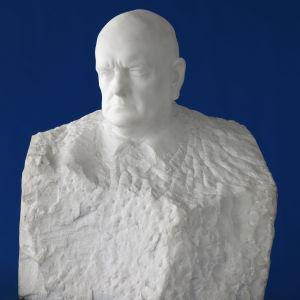 Wäinö Aaltonen: Jean Sibelius, 1935. Konstmuseet Ateneum, Antells samlingar.