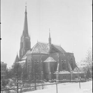 Viipurin Tuomiokirkko pommitusten jälkeen 5.2.1940