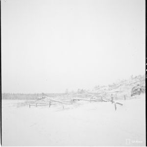 9.1.1940 HV-murroksia Jänisjoen varrella Läskelä.