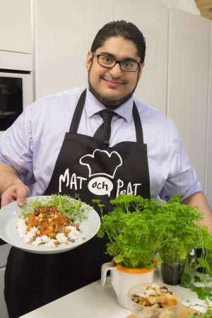 Mohammed el-fatatry gästar Mat och Prat.
