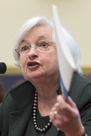 Fedchefen Janet Yellen