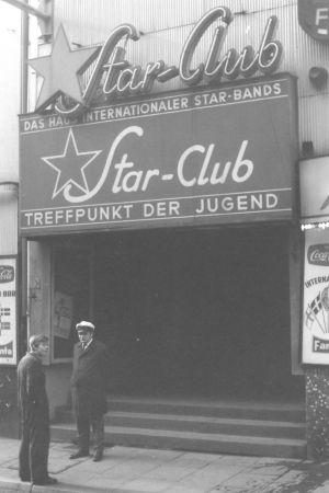 Ingången till Star-Club i Hamburg.