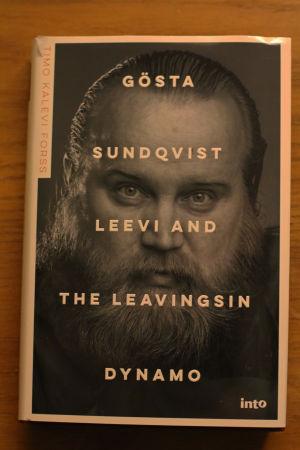 Pärmbild på boken Gösta Sundqvist Leev and the Leavingsin Dynamo