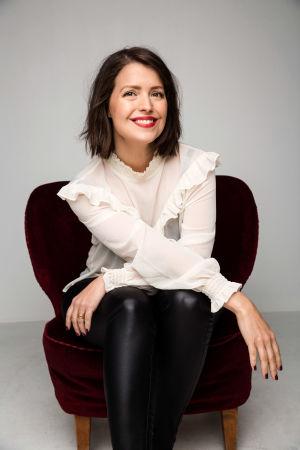 Författaren Eva Frantz
