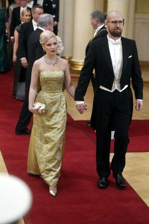 De grönas riksdagsledamot Touko Aalto och Iiris Finkkilä