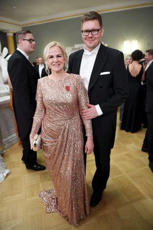 Antti Lindtman och Kaija Stormbom