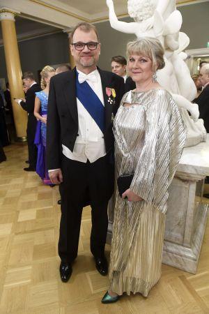 Juha Sipilä och Minna-Maaria Sipilä
