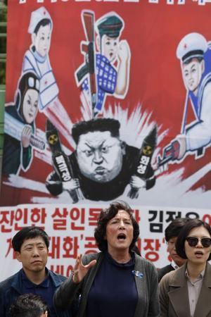 En del nordkoreanska avhoppare i Sydkorea riskerar livet genom att delta i verksamhet mot Nordkorea