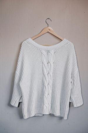 vit tröja