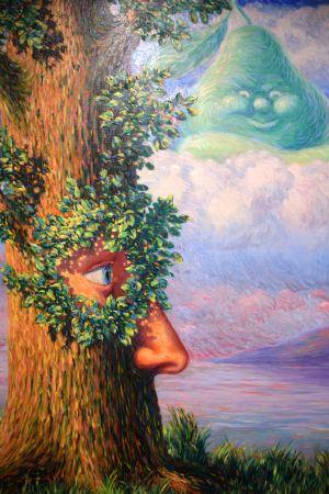 René Magritte: Alive i Underlandet (1946)