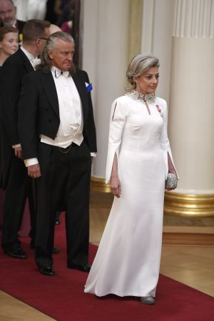 Kvinna i vitt