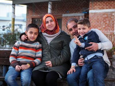 Familjen splittras till olika lander