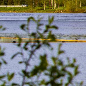 Tornionjoki ja Möljänrannan kojamo -patsas