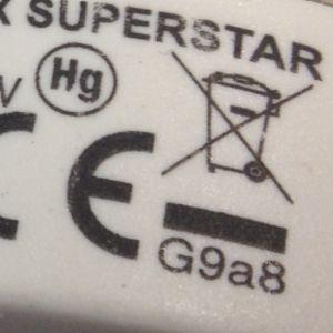 Lågenergilampor och LED-lampor sorteras som problemavfall eller elektronikskrot.