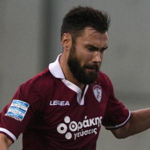 Tim Sparv i farten för AEL Larissa.