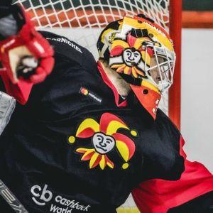 Antti Niemi i Jokerits mål.