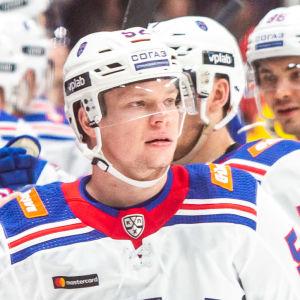 Miro Aaltonen i SKA har gjort mål.